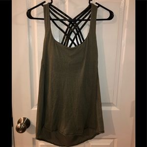 Lululemon No Limit Camo Tank Top